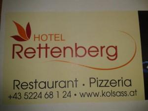 Hotel Rettenberg Foto