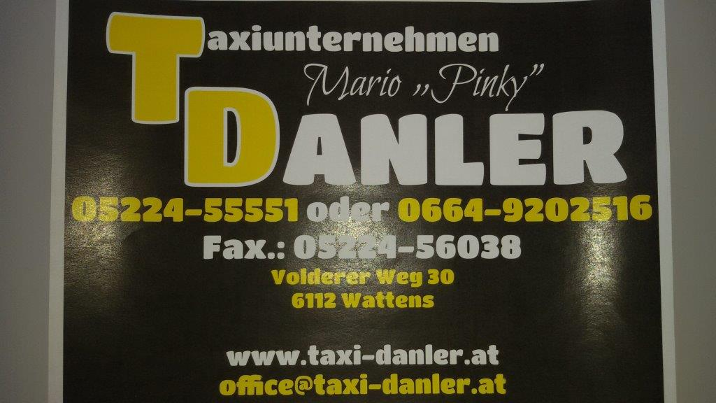 Pinky Logo Taxi Danler Homepage