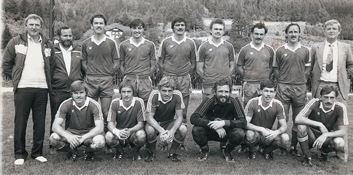 Kampfmannschaft 1983